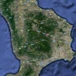 Mappa della Calabria